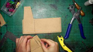 výroba peňaženky